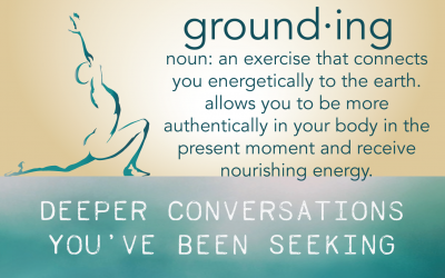 Grounding – an exercise in connection with Lisa Logan